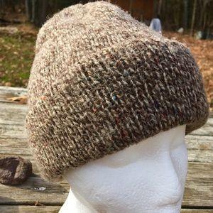 Accessories - 🍯SWEET DEAL🍯 Speckled Brown Wool Beanie Hat